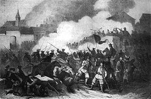 Battle of Siemiatycze - Image: Battle of Siemiatycze 1863