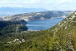 Bay of Bakar, Croatia, seen from the east.jpg