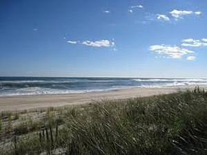East Quogue, New York - Beach at East Quogue