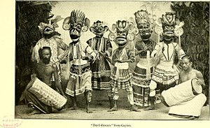 Dances of Sri Lanka - Devil Dances at the turn of the twentieth century.