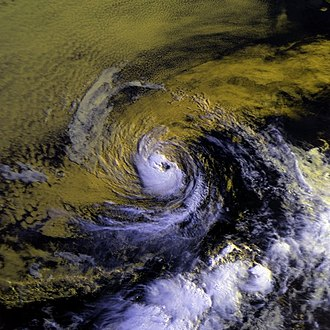 1987 Pacific hurricane season - Image: Beatriz 05 july 1987 1545Z