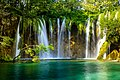 Beautiful waterfall in Plitvice Lakes.jpg