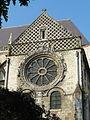 Beauvais (60), église Saint-Étienne, croisillon nord, parties hautes, vue depuis le nord.JPG
