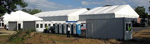 Bedarfsorientierte Erstaufnahmeeinrichtung (BEA) für Flüchtlinge in Freiburg-Haslach 3