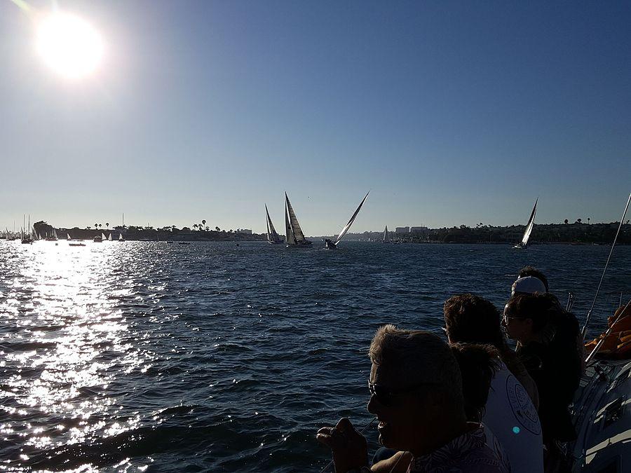 Beer can Racing in Newport Beach Aug 18 2016