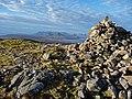Beinn na Caillich summit cairn - geograph.org.uk - 1616108.jpg