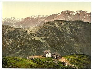 Battle of Oberwald - The steep hillsides and high mountains of Valais complicated fighting; the Valais insurgents knew how to use the countryside to their best advantage