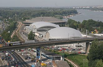 Belgrade Fair - Belgrade Fair exhibit halls