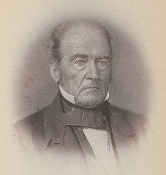 John Bell (Tennessee politician) - Photograph of Bell by Julian Vannerson