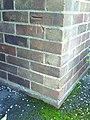 Benchmark on ^38 Grenville Road - geograph.org.uk - 2135837.jpg