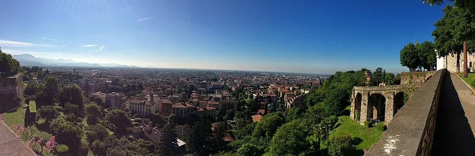 Bergamo Alta Panoramic View