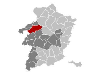 Beringen, Belgium - Image: Beringen Limburg Belgium Map