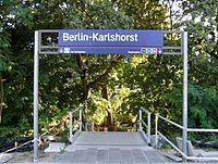 Berlin - Karlshorst - S- und Regionalbahnhof (9495712649).jpg