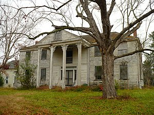 National Register of Historic Places listings in Hale County, Alabama - Image: Bermuda Hill Plantation 03