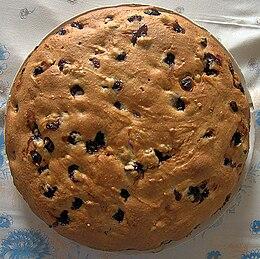 Una torta Bertolina