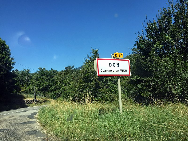 Don, commune de Vieu.