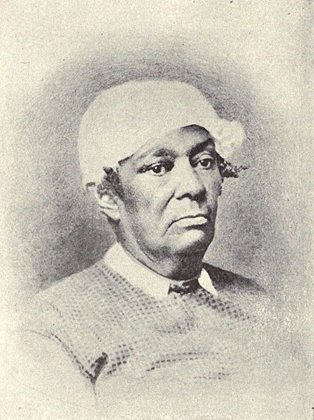 Portrait of Betsey Stockton who was born into slavery in 1865. Betsey Stockton.jpg