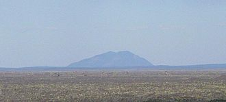 Craters of the Moon National Monument and Preserve - Big Southern Butte was used as a landmark by pioneers.