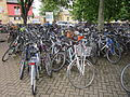 Bikes outside Cambridge railway station, England - IMG 0608.JPG