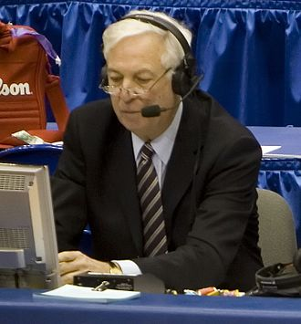 Bill Raftery - Raftery at the 2009 NCAA Tournament.