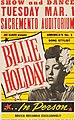 Billie Holiday In Person, Tuesday, March 1, 1949, Sacramento Auditorium.jpg