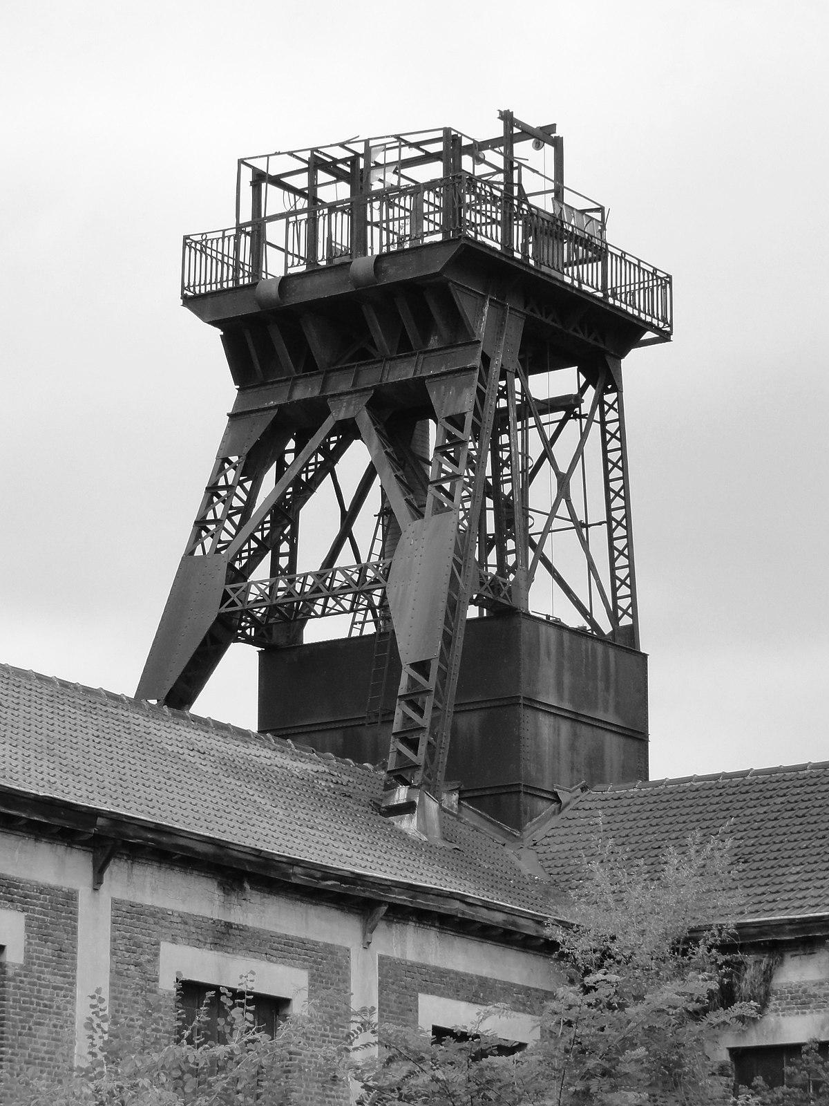 Chevalement de la fosse n 5 des mines de meurchin wikip dia for Code postal billy berclau