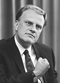 {{w|Billy Graham}}, American religious figure.