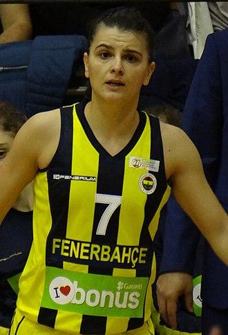 Birsel Vardarlı - Vardarlı playing for Fenerbahçe
