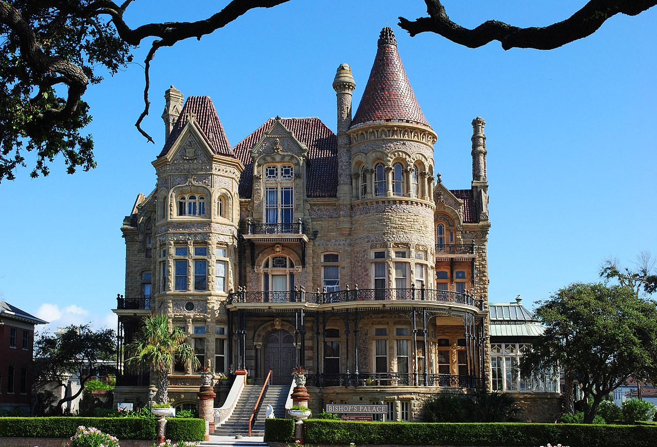 File Bishop S Palace Galveston Jpg Wikimedia Commons