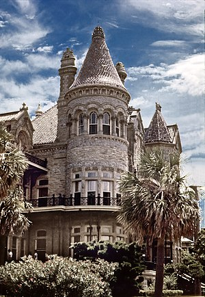 Bishop's Palace, Galveston - Circa 1970