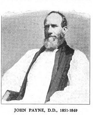 John Payne (bishop of Liberia) - Image: Bishop John Payne (1851 1869)