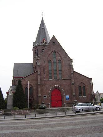 Bissegem - Image: Bissegem Sint Audomaruskerk 1