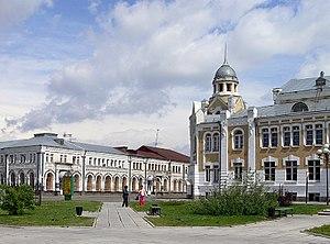 Biysk - Sovetskaya Street in Biysk