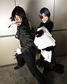 Black Butler cosplayers at Anime Festival Asia 2010 (3).jpg