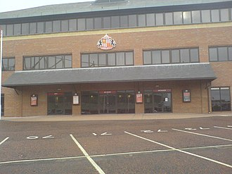 Stadium of Light - Black Cat House - used as a ticket office and club administration