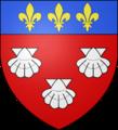 Blason ville fr Aurillac (Cantal).png