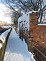 Blocked doorway on the city walls in the snow - geograph.org.uk - 1658607.jpg