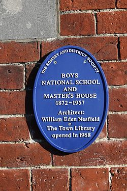 Photo of Blue plaque number 9696
