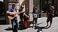 Bluegrass street performers Rautakoura, Helsinki FINLAND June 2006.jpg