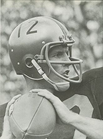 Bob Griese - Griese from 1967 Purdue yearbook