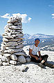 Bob Kamps, atop Fairview Dome, Tuolumne Meadows, Yosemite.jpg