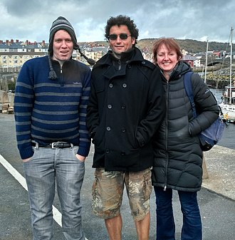 """Jesus Christians - Bobby Kelly (left) caused a British tabloid media frenzy by """"disappearing"""" with the religious group """"Jesus Christians"""" in June 2000 as a teenager. 17 years later Bobby poses with friends Roland and Sue Gianstefani who were convicted of contempt for refusing to reveal his whereabouts to a High Court judge."""