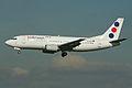 Boeing 737-3H9 YU-AND Jat Airways (7060762287).jpg