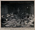 Boer War; wounded soldiers being tended at Klip's Drift. Pro Wellcome V0015547.jpg