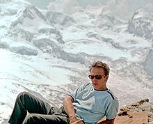 На стажировке в Швейцарии, Альпы