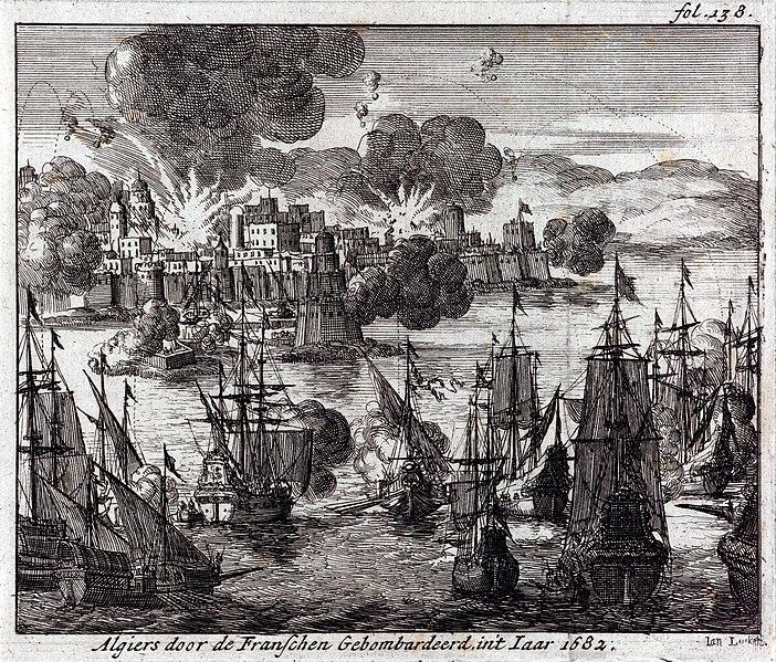 File:Bombardement d alger par les francais en 1682.JPG