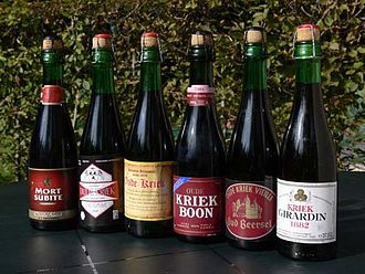 Kriek lambic - Different brands of kriek