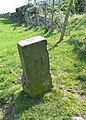 Boundary stone off Whitley Road - geograph.org.uk - 2368200.jpg
