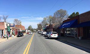 Bowling Green, Virginia - Main Street, Bowling Green