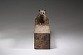 Box for animal mummy surmounted by a cat, inscribed MET LC-12.182.27 EGDP023747.jpg